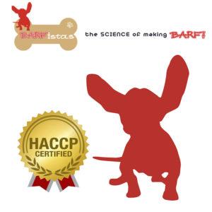 HACCP και BARF CERTIFIED